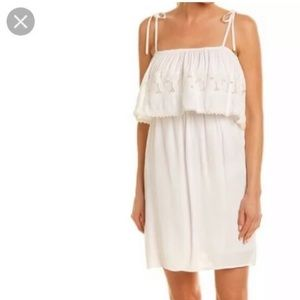 L*Space Jaclyn Dress White Size Small NWT